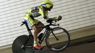 Ivan Basso, coureur de la Tinkoff, atteint d'un cancer des testicules