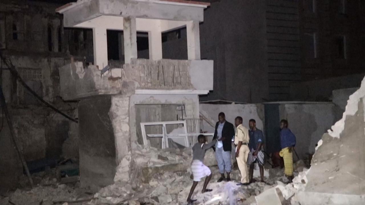 Attaque d'un hôtel à Mogadiscio