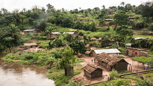 Un village du Sud Ouest de la RD Congo (photo d'illustration).