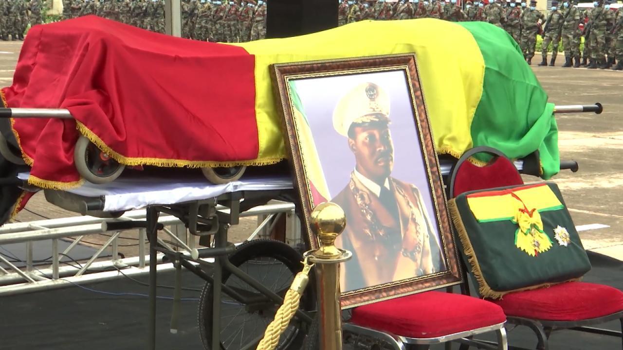 Funeral of Moussa Traoré