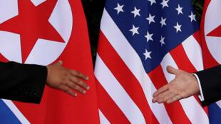 El presidente de Estados Unidos, Donald Trump, y el líder de Corea del Norte, Kim Jong-un, se encontraron en Singapur, el 12 de junio de 2018.