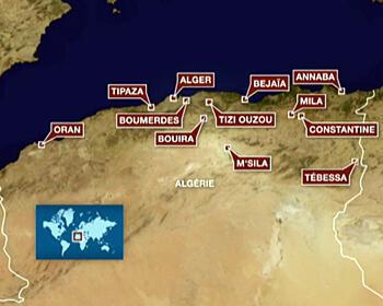 Le mouvement de protestation contre la vie chère touche de plus en plus de villes algériennes.