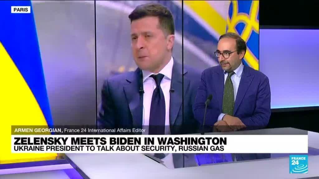 2021-09-01 13:08 Ukraine's leader to talk with Biden on security, Russian gas
