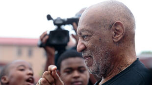 Bill Cosby participates in an educational event in Selma, Alabama on May 15, 2015