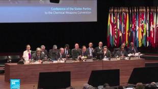 اجتماع خاص لمنظمة الأسلحة الكيميائية في لاهاي