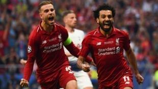 محمد صلاح كان أحد أبطال فوز ليفربول على توتنهام في النهائي.