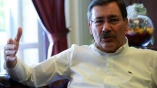 رئيس بلدية أنقرة مليح غوكشيك في 31 تموز/يوليو 2016