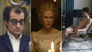 Louis Garrel en Jean-Luc Godard pour Michel Hazanavicius, Nicole Kidman chez Sofia Coppola et Marine Vacht mise à nue par François Ozon pour le 70e Festival de Cannes.