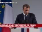 Discours d'Emmanuel Macron lors de l'hommage aux victimes de la préfecture de police