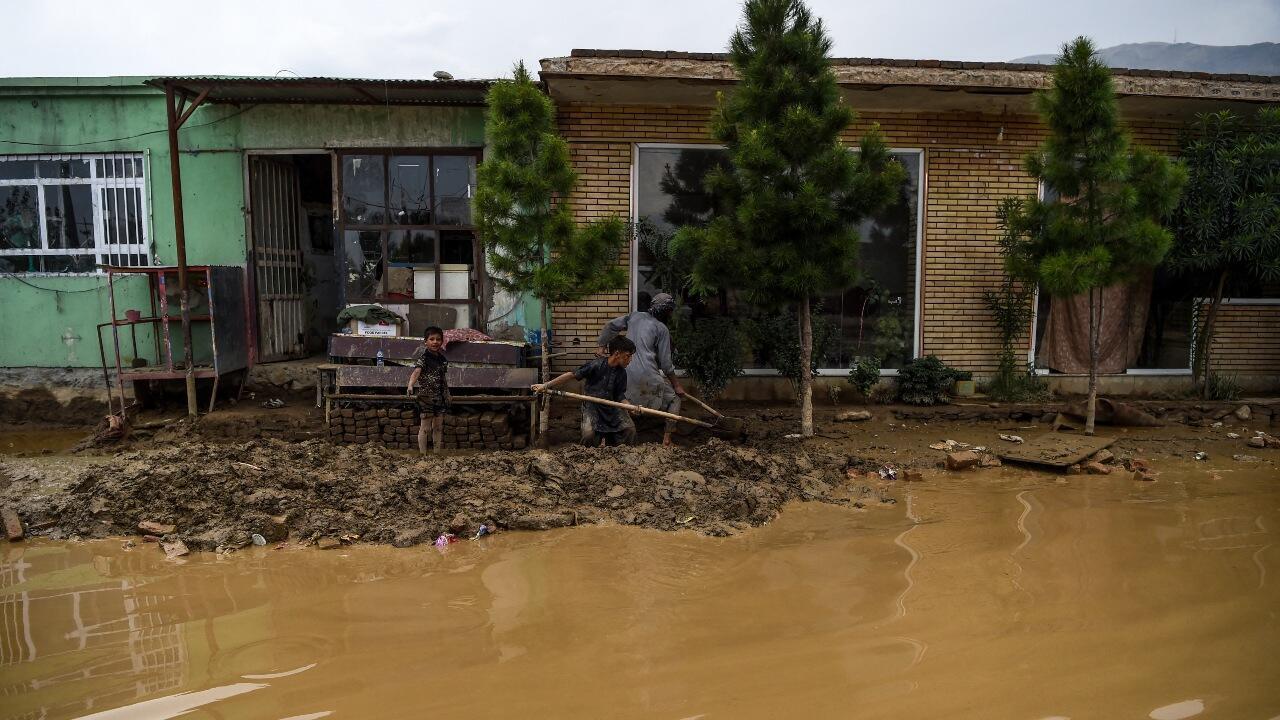 Afghanistan floods 2020