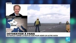 2020-09-30 13:01 Détonation à Paris : un rafale a brisé le mur du son pour aider un autre avion