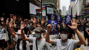 Hong Kong manifestations chine