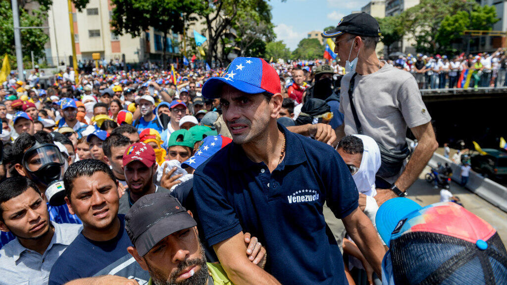 Henrique Capriles est l'un des principaux leaders des manifestations qui agitent le Venezuela.