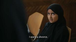 """""""Je veux divorcer"""", lance Nojoom à un juge de Sanaa."""