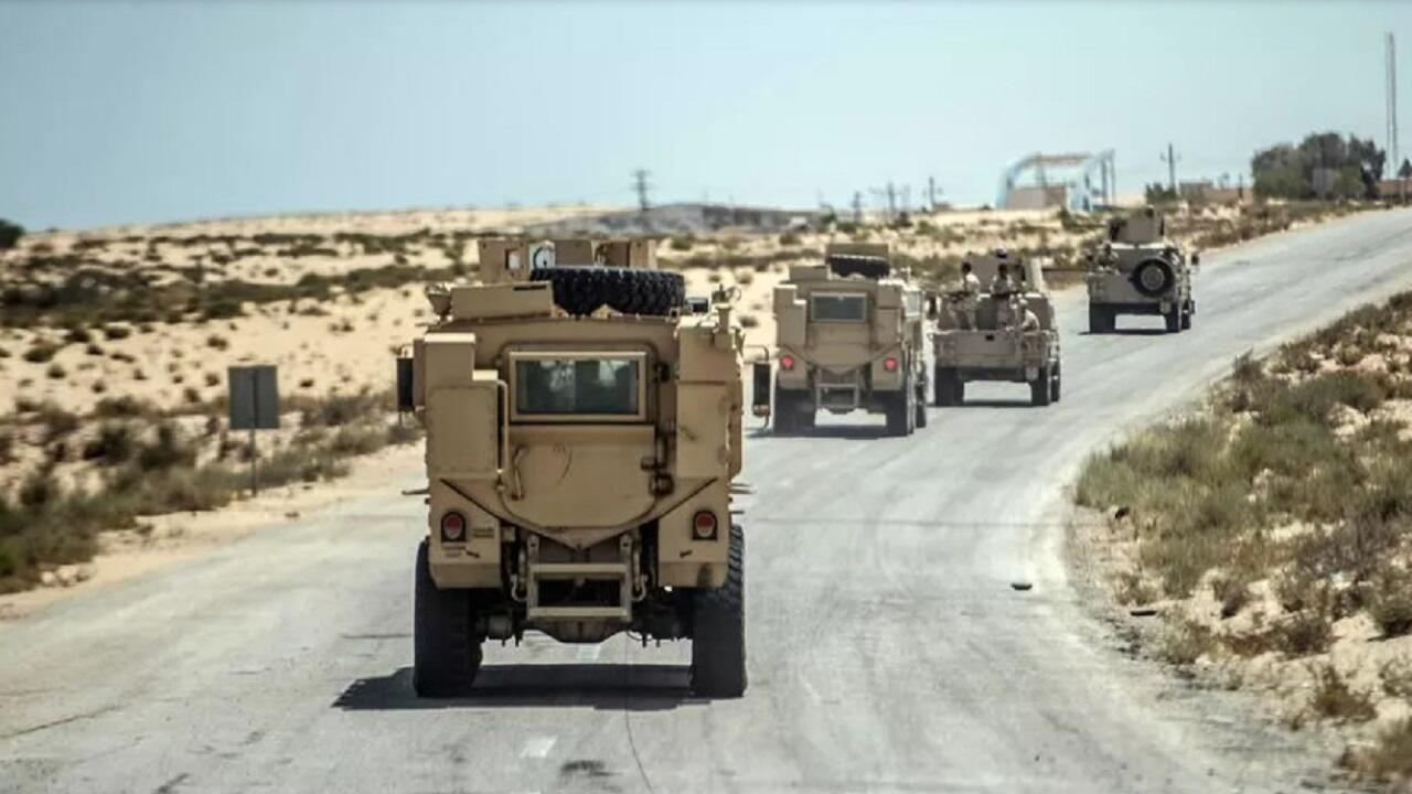 egypt army anti terror sinai
