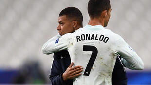 Cristiano Ronaldo and Kylian Mbappe both went close, but Portugal and France drew 0-0