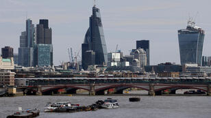 AFP file photo | The City of London is Europe's premier financial centre.