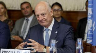 الموفد الأممي إلى سوريا ستافان دي ميستورا