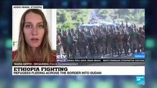 2020-11-16 14:01 Ethiopia fighting: Number of refugees fleeing to Sudan surpasses 20,000