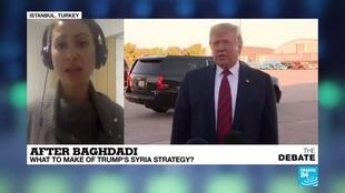2019-10-28 19:45 Jasmine El-Gamal discusses US President Donald Trump's Foreign Policy in Syria