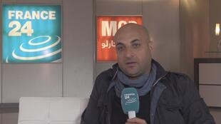 عبد الله ملكاوي موفد فرانس 24 إلى الموصل