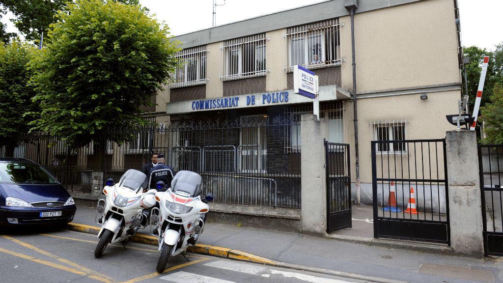 Le commissariat de police d'Aulnay-sous-Bois où quatre policiers ont été mis en examen après l'interpellation violente d'un jeune homme le 2 février à la suite d'une altercation.