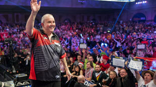 Taylor, a winner of 16 world titles, retired after losing the 2018 final