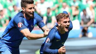 La France a peiné pour se défaire de l'Irlande, en 8e de finale de l'Euro-2016.