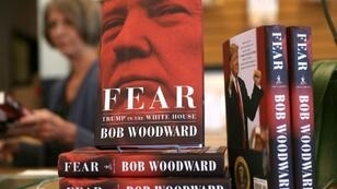 "The book ""Fear"" by Washington Post journalist Bob Woodward is one of three books on the Trump presidency to sell more than one million copies"