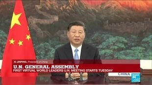2020-09-22 16:36 REPLAY: China President Xi Jinping's speech at UN General Assembly