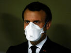 Coronavirus crisis throws a lifeline to Macron's troubled presidency