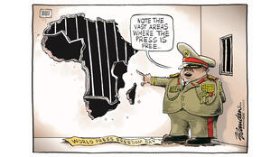 BRandan (Afrique du Sud) - Cartooning for Peace