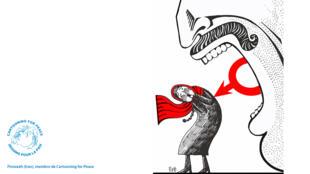 Firoozeh a reçu divers prix et récompenses pour ses dessins en Iran et en 2012, elle est l'une des quatre dessinateurs de presse récompensés par Kofi Annan.