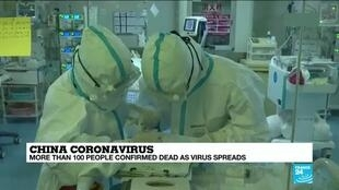 2020-01-28 13:37 China: More than 100 people confirmed dead as coronavirus spreads