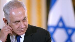 Le Premier ministre israélien Benjamin Netanyahou est fragilisé depuis novembre et la démission de son ministre de la Défense..