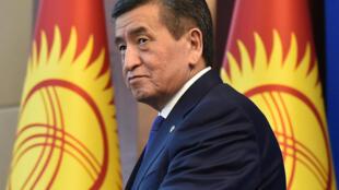 President-Kirghizistan