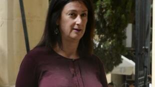 La journaliste Daphne Caruana Galizia le 24 avril 2017.