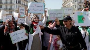 مظاهرة ضد الرئيس بوتفليقة وسط العاصمة الجزائرية - 13 مارس/آذار 2019