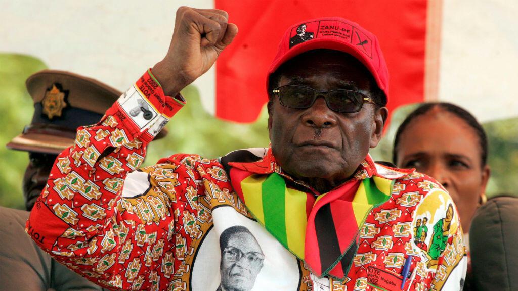 Robert Mugabe ha estado en el poder durante 37 años