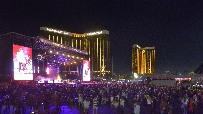 Tiroteo en concierto de música country en Las Vegas.