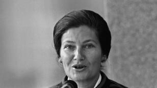 سيمون فاي كانت أول رئيسة للبرلمان الأوروبي، في 1979