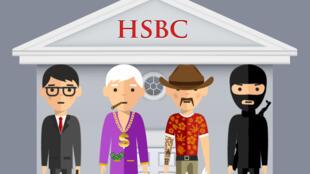 HSBC Suisse a été accusée, lundi, d'avoir longtemps favorisé l'évasion fiscale.