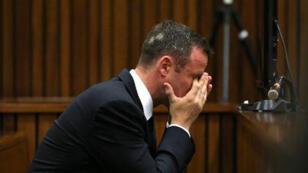 Oscar Pistorius lors de son procès en mai 2014