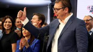 2020-06-21T211616Z_471748455_RC2XDH931XYY_RTRMADP_3_SERBIA-ELECTION