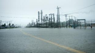 La raffinerie de Marathon Texas, non loin de Houston.
