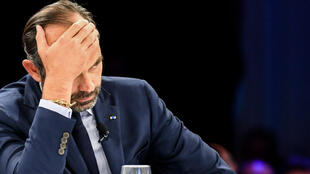 Édouard Philippe le 28 septembre à la Convention on Health Analysis and Management (CHAM), à Chamonix.