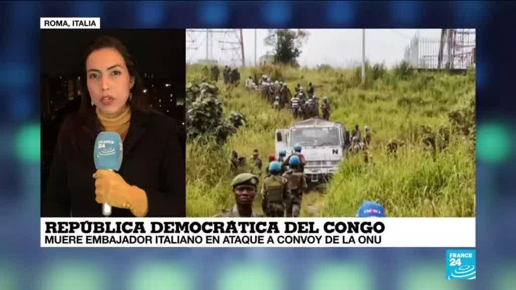 2021-02-23 00:07 Informe desde Roma: policías italianos se trasladarán a RDC para esclarecer muerte del embajador