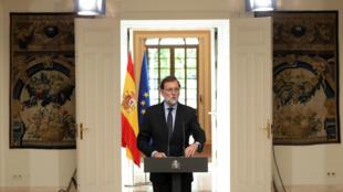 Mariano Rajoy en el Palacio de la Moncloa en Madrid, España, el 4 de mayo de 2018.