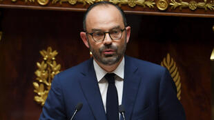 Le Premier ministre Édouard Philippe à l'Assemblée, le 4 juillet 2017.