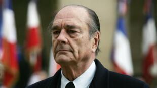 الرئيس الفرنسي السابق جاك شيراك.